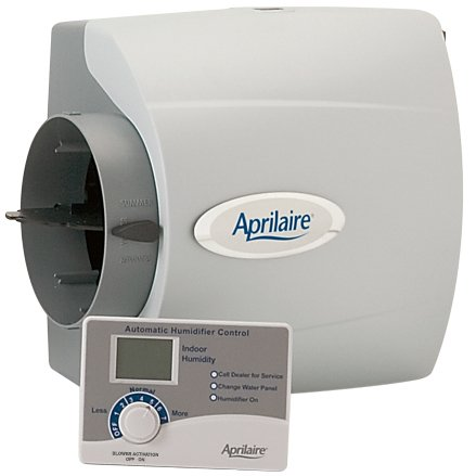 APRILAIRE 600M LARGE BYPASS HUMIDIFIER W/MANUAL CONTROL