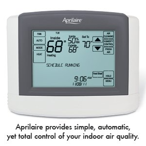 Aprilaire provides simple, automatic, yet total control of your indoor air quality.