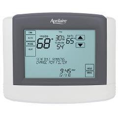 Model 8800 Home Automation Thermostat completely integrates your heating and cooling system into your home automation system.