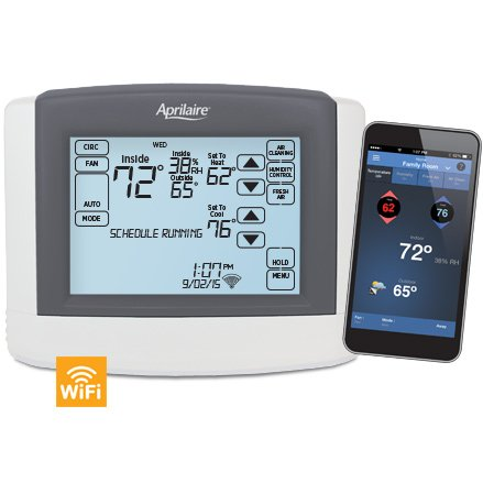 Aprilaire Model 8620W WiFi Thermostat with IAQ Control