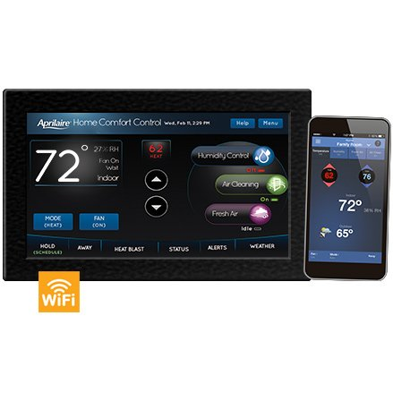 Aprilaire Model 8920W Wi-Fi Thermostat with IAQ Control